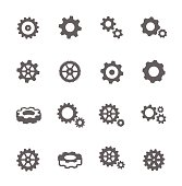 Gear Icons