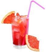 Cocktail with grapefruit juice