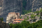The Holy Monastery of Rousanou (St. Barbara) at Meteora, Trikala
