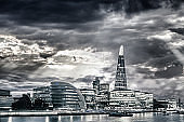 London Financial District cityscape