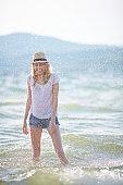 Refreshing summer joy