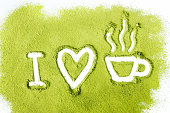 I love green tea
