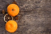Two mandarin