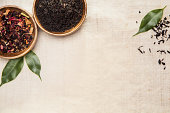 Herbs, plants and leaves, used in Chinese medicine