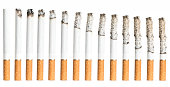 Cigarettes During Different Stages of Burn.