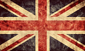 The United Kingdom grunge flag