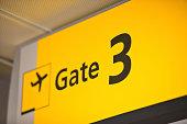 Gate Sign
