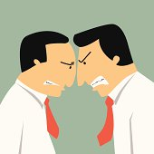 Business confrontation