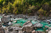Valbona river in Northern Albania tourist attraction