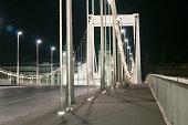Budapest by night with Elisabeth bridge