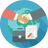 International Business Cooperation Concept