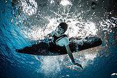 Underwater action