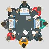 Teamwork for roundtable