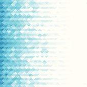 Blue toned geometric background