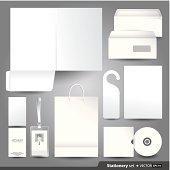 Stationery Set Design.