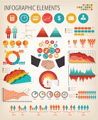 Business infographics template. Vector.
