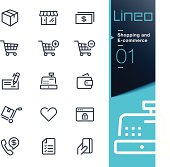 Lineo - Shopping and E-commerce outline icons