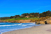 Monteray beach in California
