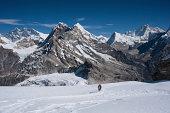 Mountaineers with Himalayas of Nepal