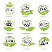 Eco Icons Set - Illustration