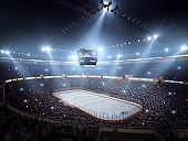 Hockey stadium arena