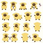 pretty sheep,