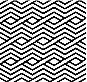 Contrast geometric seamless pattern with symmetric ornament.