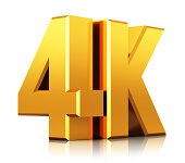 4K UltraHD TV logo