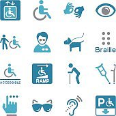 Disability Icons   Color