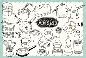 Hand drawn recipe set 01