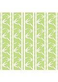 Bamboo Pattern. Tropical seamless nature. Vector