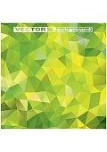 Geometric background. Green