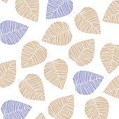 Leaf backround pattern.