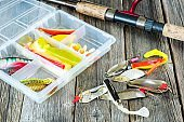 Fishing lures on