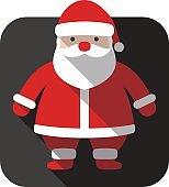 Santa Claus icon design