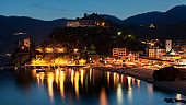 Monterosso al Mare at dusk