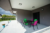 Luxury porch
