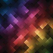 Abstract bright spectrum wallpaper. Vector illustration