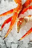 Cooked Organic Alaskan King Crab Legs