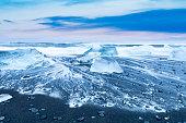 Jokulsarlon Ice Beach in Iceland