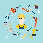 Builder and color tools for repair and home improvement.