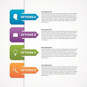 Abstract infographic template. Design elements.