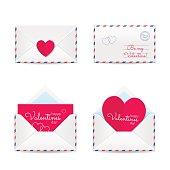 Valentines envelopes