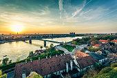 Cityscape from of Novi Sad