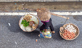 unidentified woman in the street retail