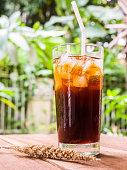 Ice americano drink