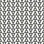 Geometric line hipster seamless pattern with triangle. Wrapping pape