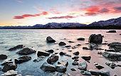 Sunrise at Lake Tekapo New Zealand