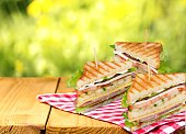 Sandwich, blt, egg