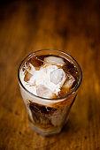 Iced Coffee with cream